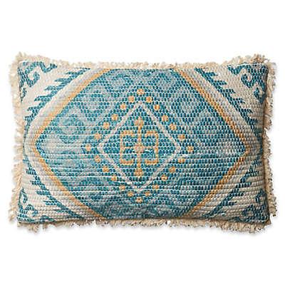 Magnolia Home Zulla Oblong Throw Pillow in Blue/Multi