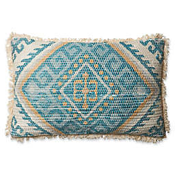 Magnolia Home Zulla Oblong Throw Pillow in Blue/Multi