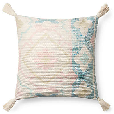 Magnolia Home by Joanna Gaines Janie Square Multicolor Throw Pillow <br />