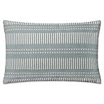 Magnolia Home by Joanna Gaines Isabelle Oblong Throw Pillow in Light Blue<br />