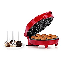 Holstein Housewares Stainless Steel Cake Pop Maker in Red