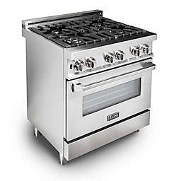ZLINE Range Stainless Steel Oven with Gas Burners