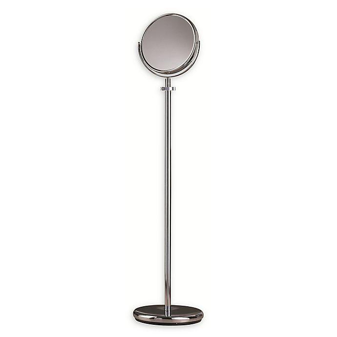 Round Bedroom Floor Standing Mirror In, Adjustable Floor Stand Mirror