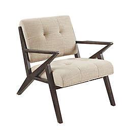 INK+IVY Rocket Lounge Chair in Pecan/Tan