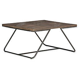 Simpli Home Hailey Square Coffee Table in Java