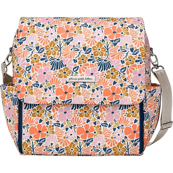 Petunia Pickle Bottom® Boxy Backpack Diaper Bag in Wildflowers of Westbury  | Bed Bath & Beyond