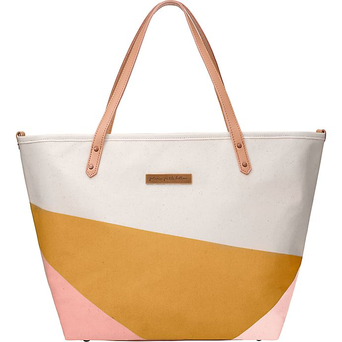Alternate image 1 for Petunia Pickle Bottom® Downtown Tote in Birch/Macaron