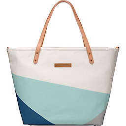Petunia Pickle Bottom® Downtown Tote in Birch/Fjord