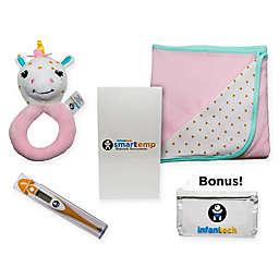 Infanttech 5-Piece Giraffe Smarttemp Gift Set