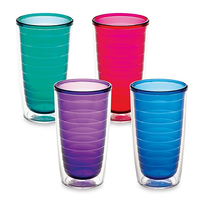 Tervis 16 Ounce Assorted Color Tumblers Set Of 4 Bed Bath Beyond