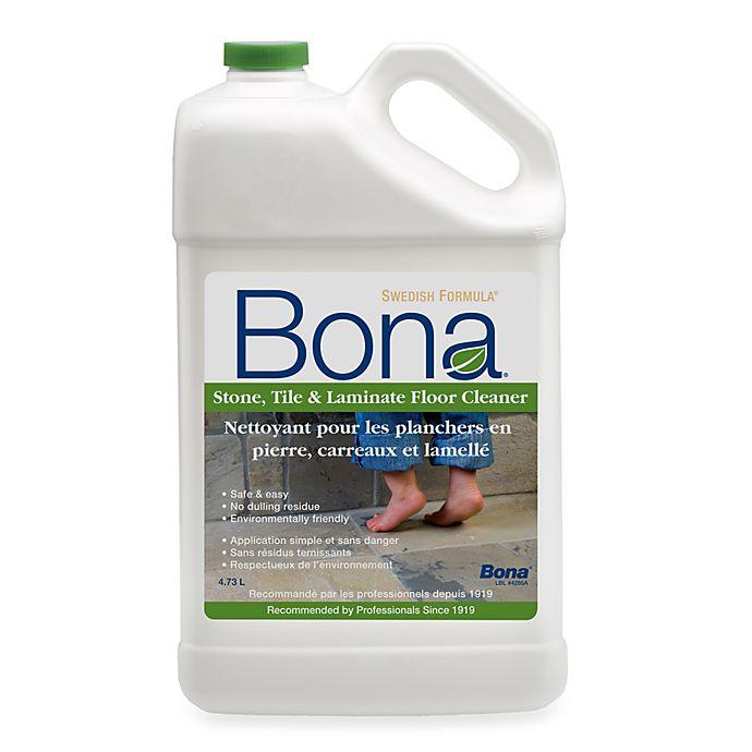 Alternate image 1 for Bona® Stone, Tile & Laminate Floor Cleaner Refill - 160 Oz