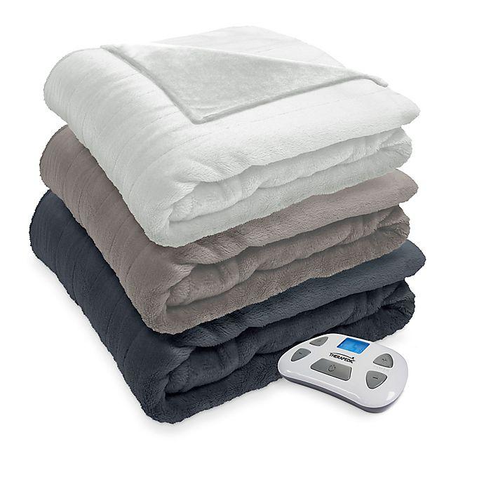 Alternate image 1 for Therapedic® Silky Plush Warming Blanket