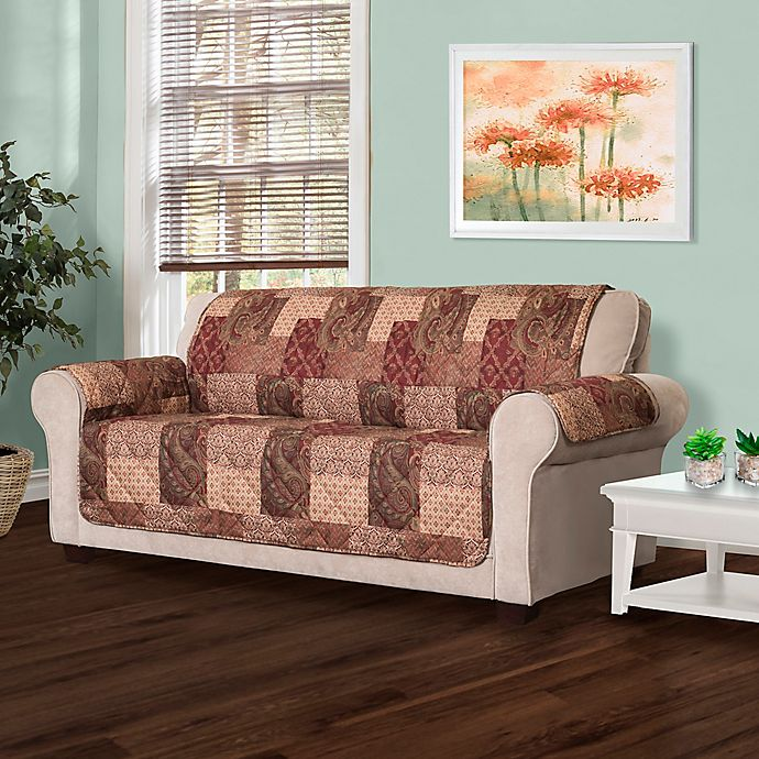 Alternate image 1 for Innovative Textile Solutions Paisley Patch Sofa Protector
