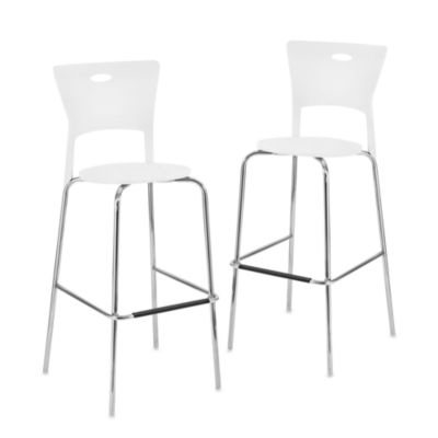 Lumisource Mimi Stackable Bar Stool Set Of 2 Bed Bath