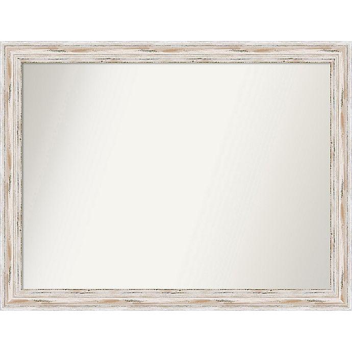 Alternate image 1 for Amanti Art 36-Inch x 47-Inch Rectangular Wall Mirror in Alexandria White