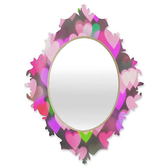Alternate image 1 for DENY Designs Lisa Argyropoulos Sea Of Love Medium Baroque Mirror
