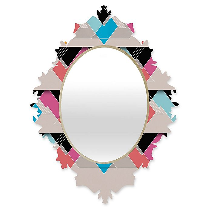 Alternate image 1 for DENY Designs Gabi The Space Between Medium Baroque Mirror