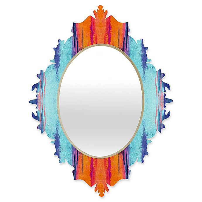 Alternate image 1 for Deny Designs® Elisabeth Fredriksson 29-Inch x 22-Inch Oval Colordream 1 Baroque Mirror