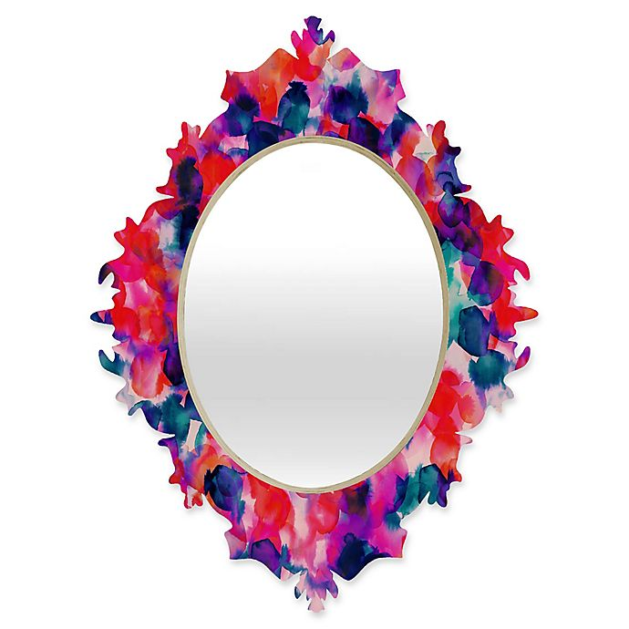 Alternate image 1 for Deny Designs® Jacqueline Maldonado 19-Inch x 14-Inch Oval Filigree Baroque Mirror
