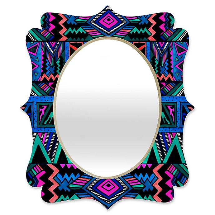 Alternate image 1 for Deny Designs Kris Tate Katok Quatrefoil Medium Wall Mirror