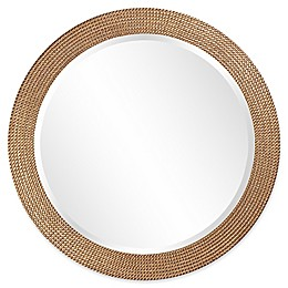 Howard Elliott® 42-Inch Round Lancelot Mirror in Silver