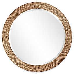 Howard Elliott® 42-Inch Round Lancelot Mirror in Silver