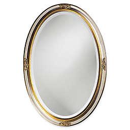 31-Inch x 21-Inch Carlton Oval Mirror