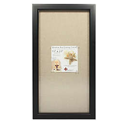 Lawrence Frames Linen-Lined 10-Inch x 20-Inch Shadow Box Frame
