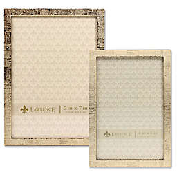 Lawrence Frames Linen Pattern  Metal Picture Frame