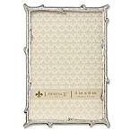 Lawrence Frames Branch 4-Inch x 6-Inch Metal Picture Frame in Silver