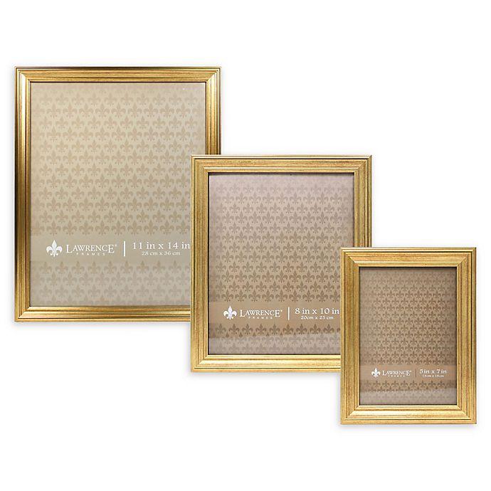 Alternate image 1 for Lawrence Frames Burnished Picture Frame in Gold