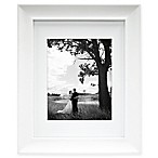 MCS Archival 8-Inch x 10-Inch Matted Frame in White