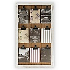 Bee & Willow™ Home White Wash Pine Photo Clip Board Wall Frame