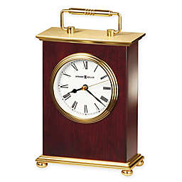 Howard Miller Bracket Tabletop Clock in Rosewood