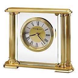 Howard Miller Athens Tabletop Clock in Polished Brass