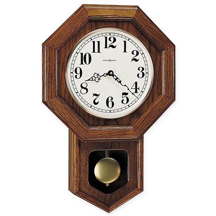 Alternate image 1 for Howard Miller Katherine 13.75-Inch Wall Clock in Yorkshire Oak