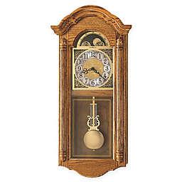Howard Miller Fenton 13.5-Inch Wall Clock in Golden Oak