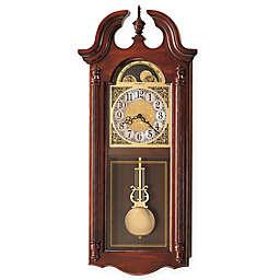Howard Miller Fenwick 13.5-Inch Wall Clock in Windsor Cherry