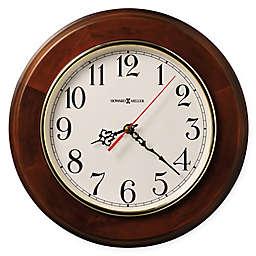 Howard Miller Brentwood 11.5-Inch Wall Clock in Windsor Cherry