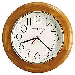 Howard Miller Grantwood 11.5-Inch Wall Clock in Champagne Oak
