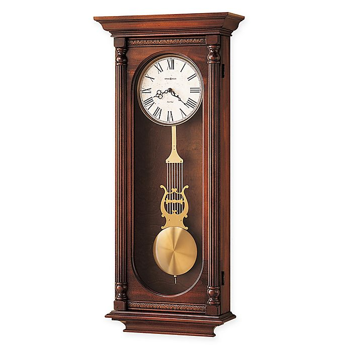 Alternate image 1 for Howard Miller Helmsley Wall Clock in Windsor Casual