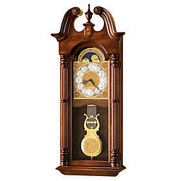 Howard Miller Maxwell 15.75-Inch Wall Clock in Windsor Cherry
