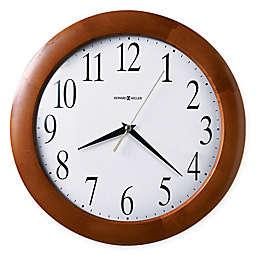 Howard Miller Corporate 12.75-Inch Wall Clock in Windsor Cherry