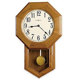 Howard Miller Elliott 13.5-Inch Wall Clock in Golden Oak
