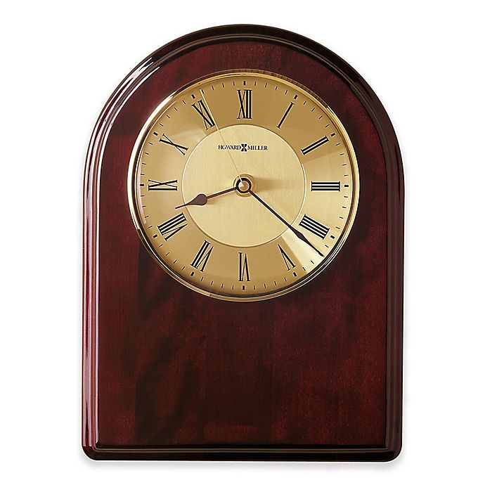 Alternate image 1 for Howard Miller Honor Time III Wall Clock in Rosewood