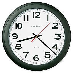 Howard Miller Norcross 12.25-Inch Wall Clock in Black