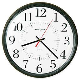 Howard Miller Alton 14-Inch Wall Clock in Black