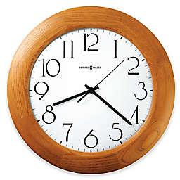 Howard Miller Santa Fe 12.75-Inch Wall Clock in Champagne Oak