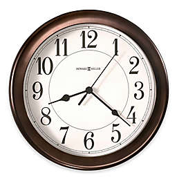Howard Miller Virgo 8.5-Inch Wall Clock in Oil Rubbed Bronze