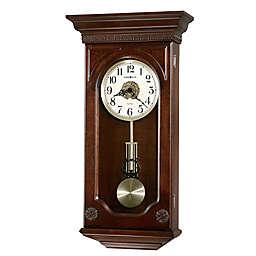 Howard Miller Jasmine 14-Inch Wall Clock in Hampton Cherry